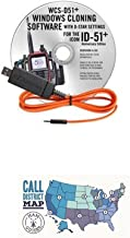 Icom ID-51A Plus Accessory Pack Bundle - - Programming Software/Cable and Ham Guides Pocket Reference Card Bundle!