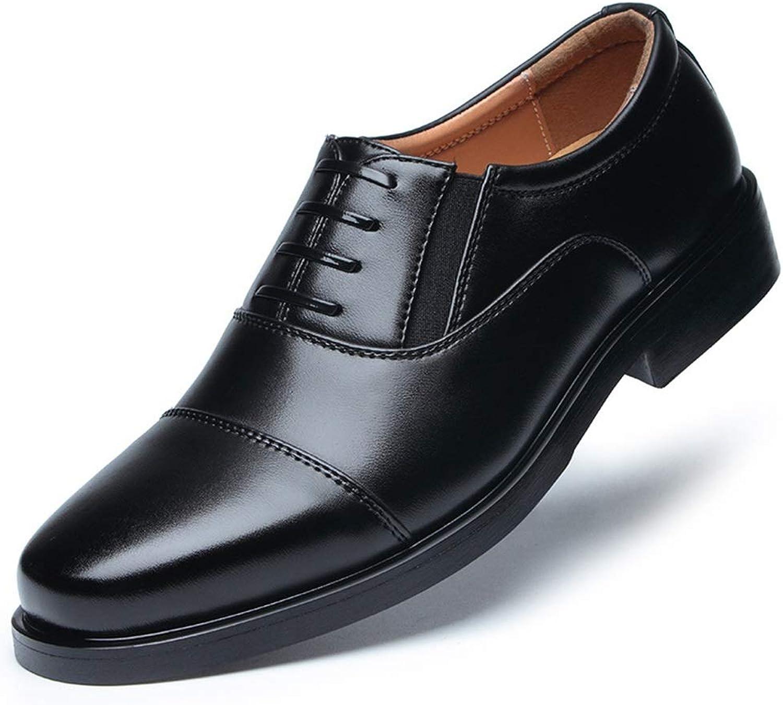 Jincosua Formales Formales Formales echtes Leder der Männer beschuht Klassische DREI Gemeinsame Offiziere Schuhe (Farbe   Schwarz, Größe   EU 45)  65d7ff