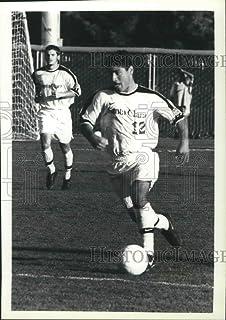 Historic Images - 1999 Vintage Press Photo Joe Ascolese, Santa Clara soccer player - sps00695