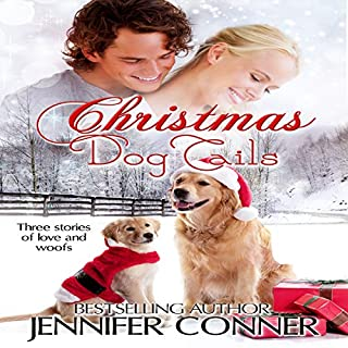Christmas Dog Tails audiobook cover art