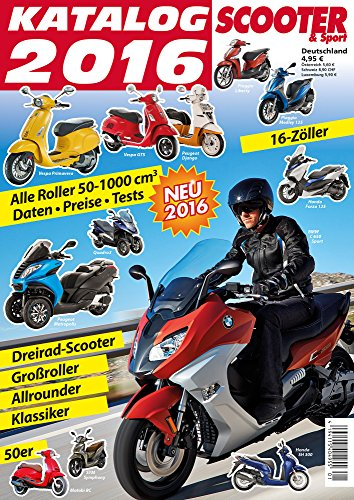 Scooter Katalog 2016