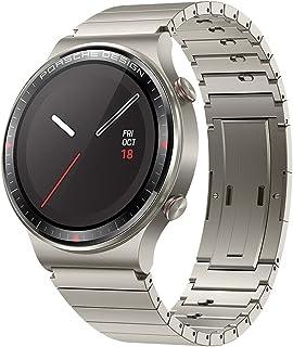 HUAWEI Watch GT 2 Pro Porsche Design Smartwatch (35 mm AMOLED-display, SpO2-monitor, hartslagmeting, muziekweergave & Blue...