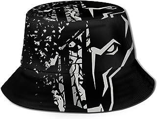 JHGFG Gorras Generales para Hombres y Mujeres Algodón Sombrero de Pescador Eisbrecher Schock Sombrero de diseño único Bucket Cap Negro
