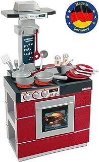 Klein 9044 Cuisine Miele Compact | Cuisine avec four, hotte aspirante, évier et beaucoup d'accessoires | Jouable sur les d...