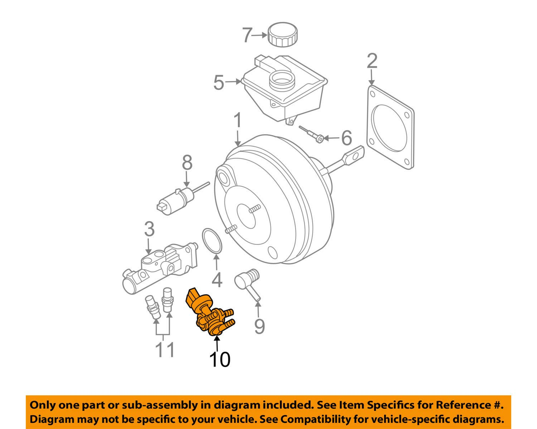 Genuine Volvo Brake Vacuum Switch XC90 See List for Fit NEW OEM p/n  31400608- Buy Online in Grenada at grenada.desertcart.com. ProductId :  30081251.   Volvo Brakes Diagram      Desertcart