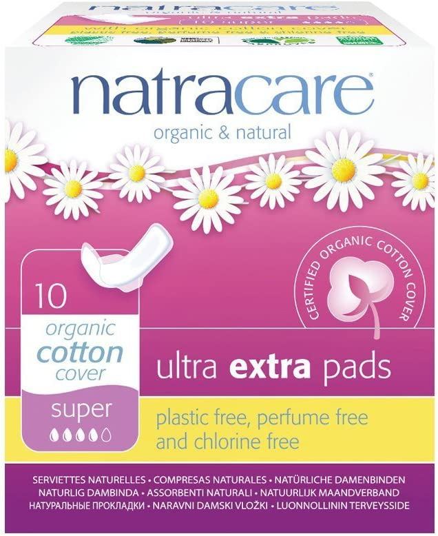 NATRACARE Free Now free shipping shipping anywhere in the nation Ultra Extra Pads Super 10s Natracare by of Pack 2