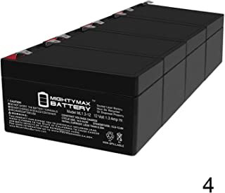 Mighty Max Battery 12V 1.3Ah SLA Battery Replaces Linear RE-2 Telephone Entry System - 4 Pack Brand Product