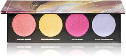NOMAD x Around-The-World Light Infusion Highlighter/Illuminator/Blush Palette
