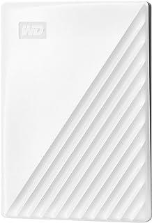 WD ポータブルHDD 2TB USB3.0 ホワイト My Passport 暗号化 パスワード保護 外付けハードディスク / 3年保証 WDBYVG0020BWT-WESN