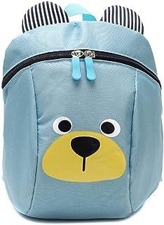 Ronshin Fashion Children Cartoon Figure Anti Lost Backpack Safety Harness Leash Strap Bag for Walking Toddler Kids