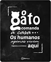 Placa Decorativa, Gato Comanda Catmypet para Gatos