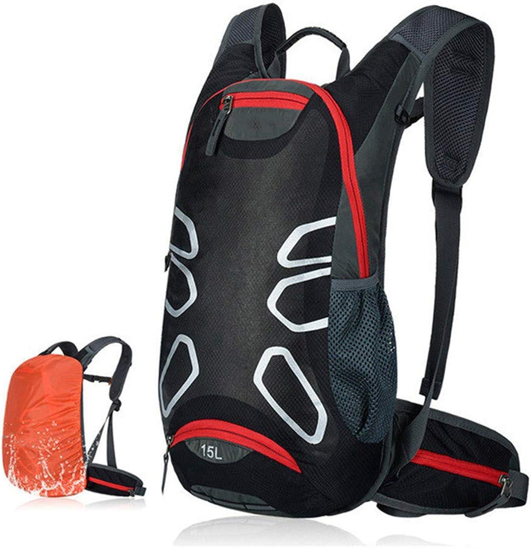 AZZXC Ultraleichte Sportrucksack-Schultertasche Im Mountainbike-Rucksack 15L Fahrradrucksack