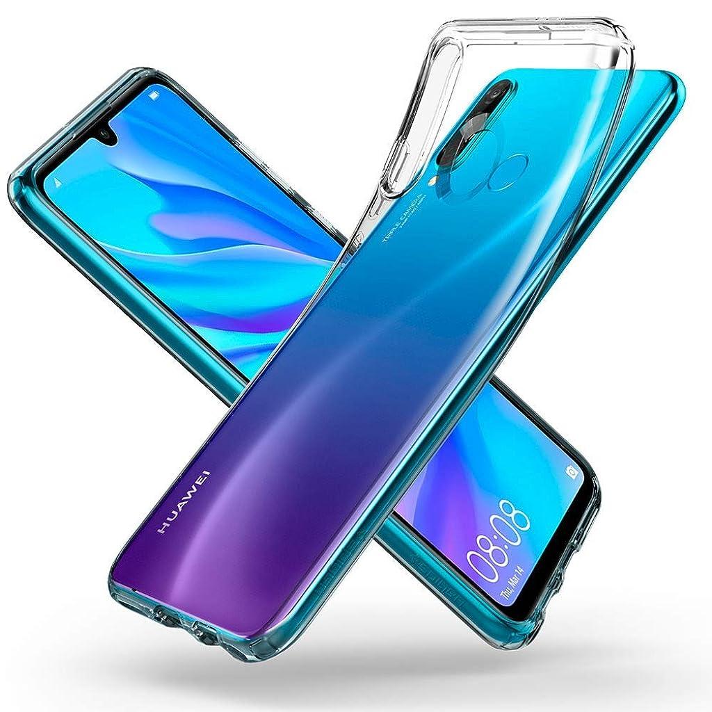 アダルトジャニスステレオタイプELMK Huawei P30 Lite ケース クリスタル クリア 透明 TPU素材 保護カバー Huawei P30 Lite 対応 (クリア)