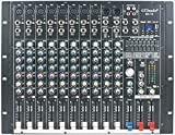 GTD-Audio 10 Channel 4000Watt Professional Powered Mixer Amplifier (1000 Watt RMS) SK-10