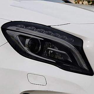 NCUIXZHAdesivo de TPU preto transparente para farol de carro, para Mercedes Benz GLA Classe X156 H247 GLA45 200 250 AMG A...