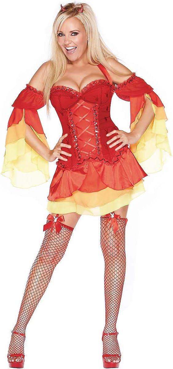Fun World Women's Devilishous Luxury Max 70% OFF Costume Devil Large