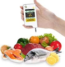 Healthy Eating,Greentest Instant Read Digital Food Processor,Fresh Meat,Fruit,Vegetable Nitrate Tester & Geiger Counter Radiation Detection Combo for Food (White)