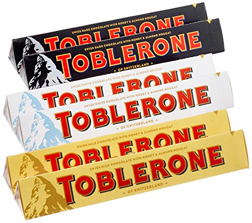 Toblerone Probier Set, 6er Pack (6 x 100 g)