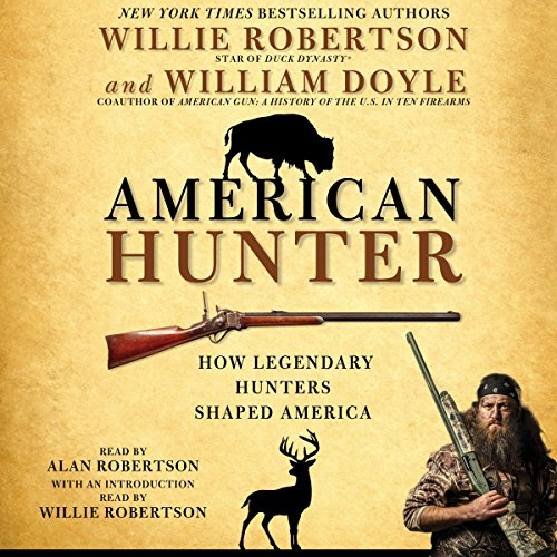 American Hunter audiobook cover art
