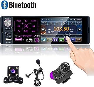 Camecho Single Din Bluetooth Car Radio 4'' Capacitive...