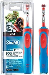 Oral-B 欧乐B 儿童电动牙刷,迪士尼星球大战图案,超柔软刷毛,适合3岁及以上儿童