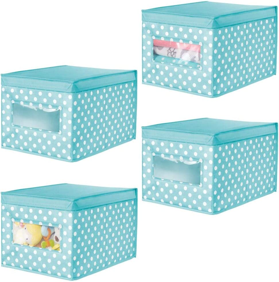 mDesign Soft Stackable Fabric Closet Organizer Bo Holder Limited Special Price NEW before selling ☆ Storage