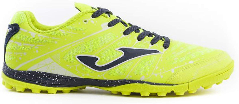 Joma Soccer shoes Super REGATE Turf 906 Yellow Fluo Calcetto Scarpa