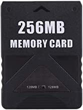 Eboxer PS2 Memory Card for Sony Playstation 2,8M-256M Memory Card High Speed for Sony Playstation 2(256M)