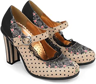 Hot Chocolate Design Chocolaticas Ballerines Mary Jane Talons Hauts Escarpins pour Femmes