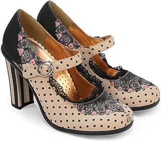 Chocolaticas High Heels Women's Mary Jane Pumps