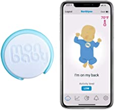 Smart Baby Sleep Monitor with Body Temperature: Breathing, Rollover, Body Temperature
