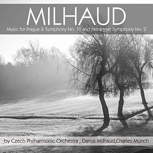 Czech Philharmonic Orchestra, Darius Milhaud & Charles Munch
