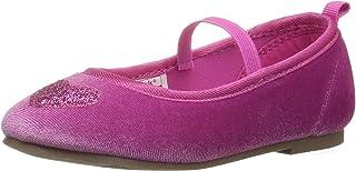 Carter's 女童 Alvina2 粉色芭蕾平底鞋