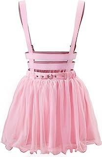 Littleforbig Mesh Overall Skirt Romper – Heartbreaker Jumper Skirt