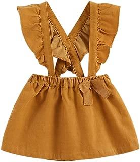 Little Girls' Fashion Suspender Skirt Baby Girls Jumpsuit Strap Overall Dress