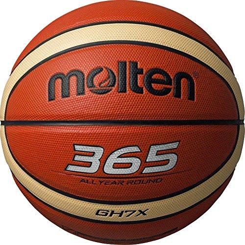 Molten-Pallone da Basket-gh7 x 365 Tutto L'Anno, a 12 Palle Ufficiali, Misura: 7