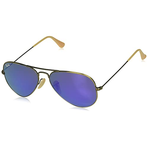 9a698342b64 Ray Ban RB3025 AVIATOR LARGE METAL Non-Polarized Sunglasses For Men For  Women