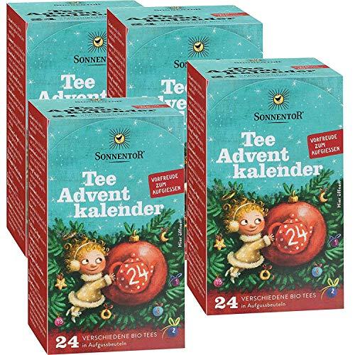 Tee-Adventskalender NEU Sonnentor - 4er Pack