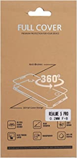 شاشة حماية ثري دي امامية و خلفية مضادة للكسر 6.3 انش لهاتف ريل مي 5 برو - شفاف