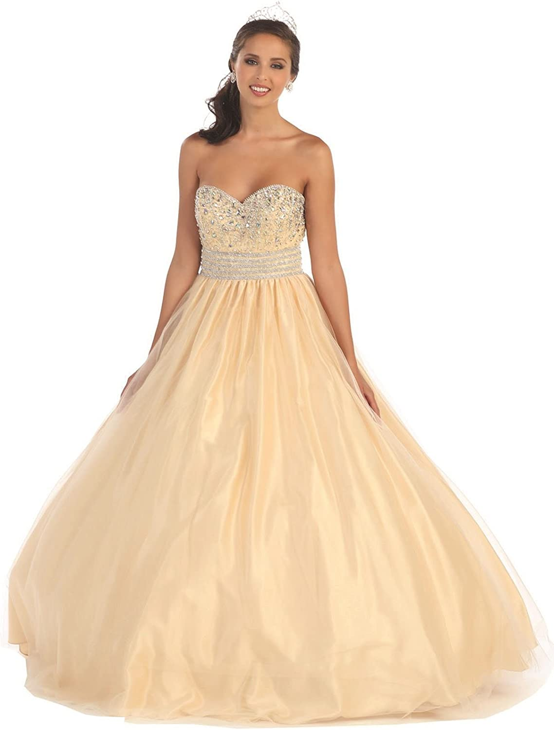 Layla K LK60 Quinceanera Designer Formal Gown