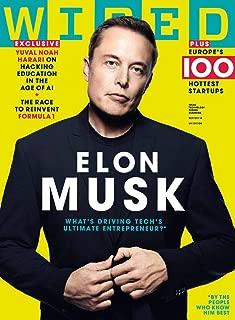 Wired UK Magazine (September/October, 2018) Elon Musk Cover