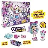 Shopkins–Pack mit Puppe, 1Figur shoppets, shoopkins + Zubehör, Mehrfarbig (GIOCHI PREZIOSI...