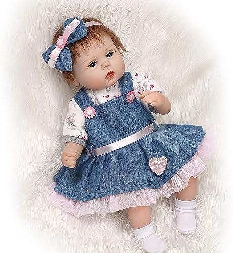 tienda en linea ZIY IUI 16  42 cm Vinilo de de de Silicona Suave Reborn Baby Doll Hecho a Mano Realista Newborn Doll Baby Playmate Xmas  varios tamaños