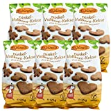 Birkengold Dinkel-Vollkorn-Kekse, 6x125 g | ohne Zuckerzusatz | 100 % mit europäischem Xylit gesüßt | vegan...