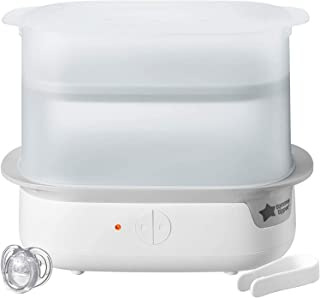 Tommee Tippee Closer to Nature Electric Steam Steriliser, White - Piece of 1