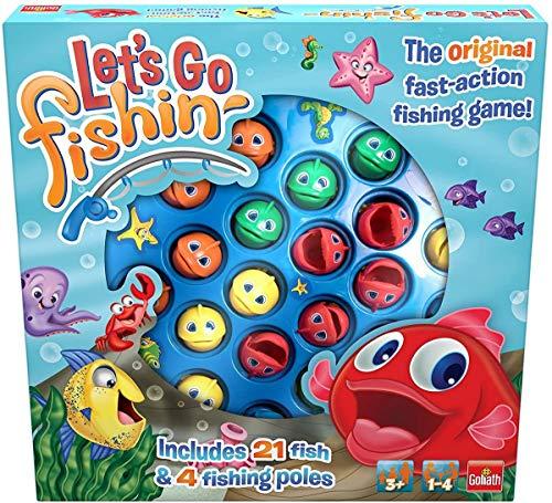 Goliath 30816 Let's Go Fishin' Original (ML), Mehrfarbig. Angelspiel für Kinder