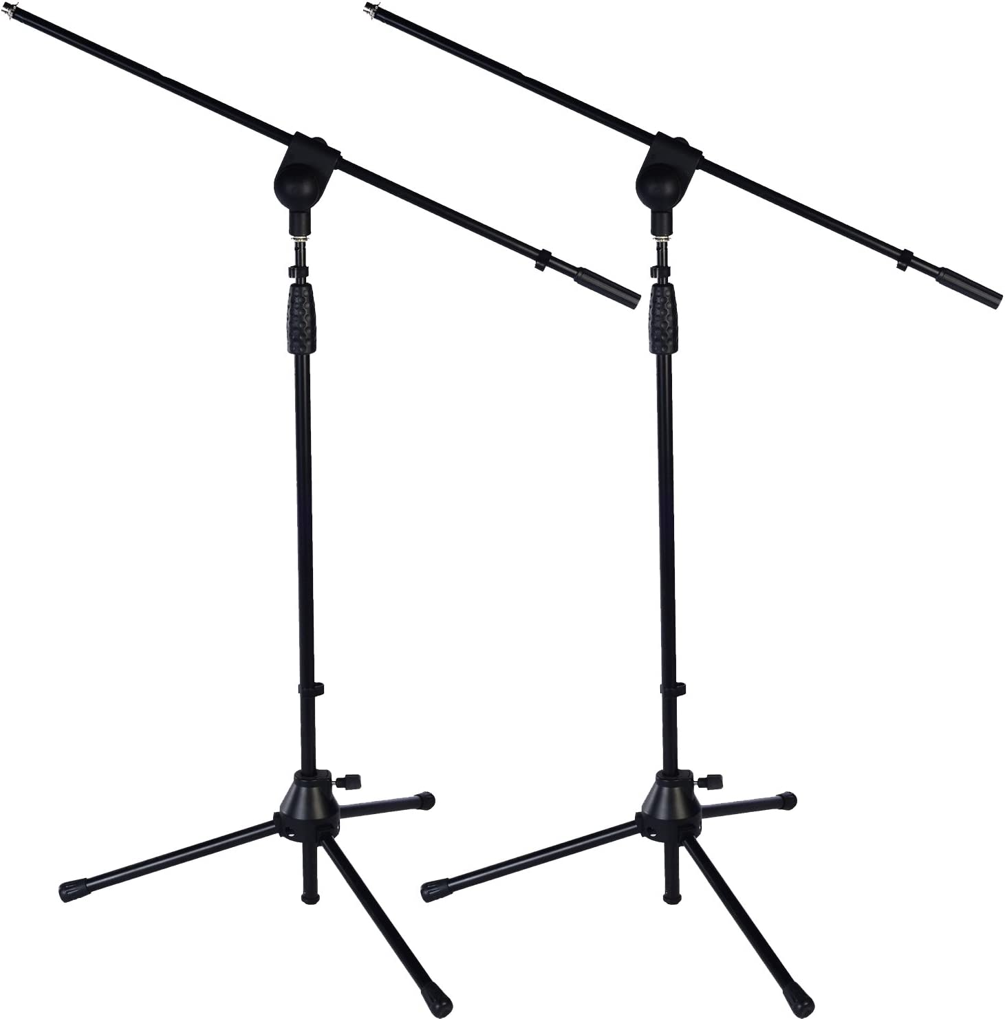 2 Pack LyxPro Microphone Stand Kansas City Mall Boom Arm Tilting P Floor Rotating Max 61% OFF