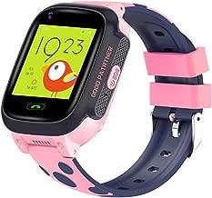 BLACK Bond Y95 4G Child Smart Watch Phone WiFi GPS Anti-Lost Waterproof SIM Card Location Tracker HD Video Call Kid's Gift (Pink)