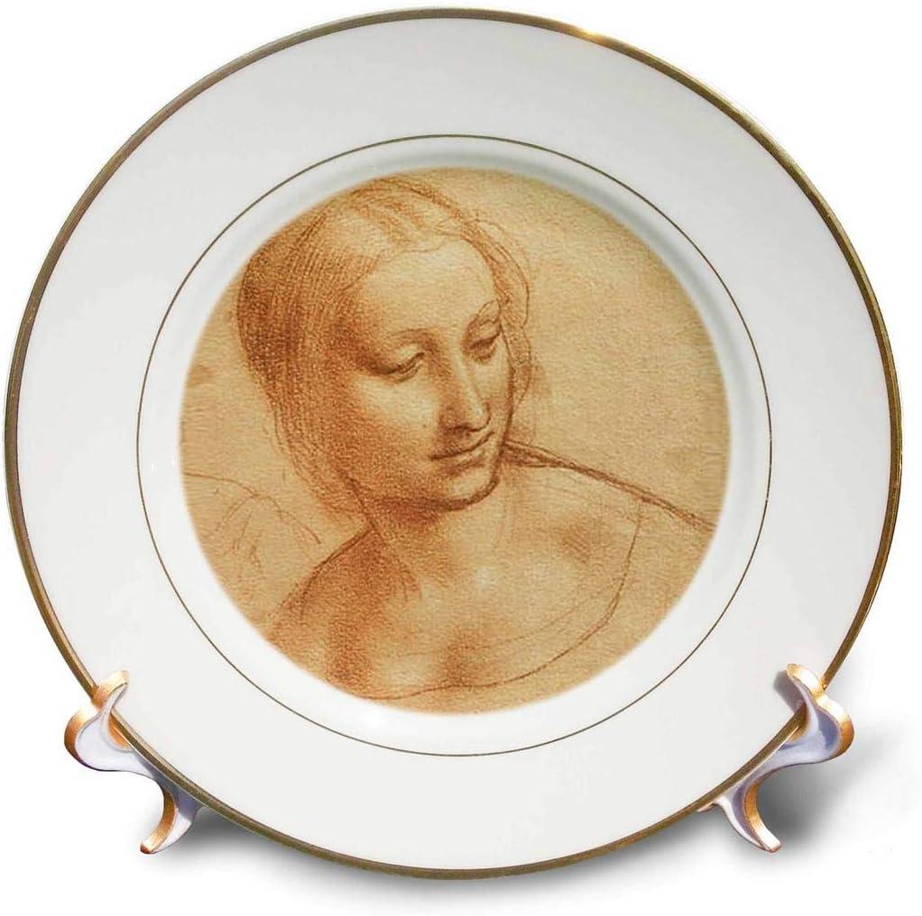 Our shop most popular 3dRose Madonna 2021 model - Porcelain 8-inch Plate