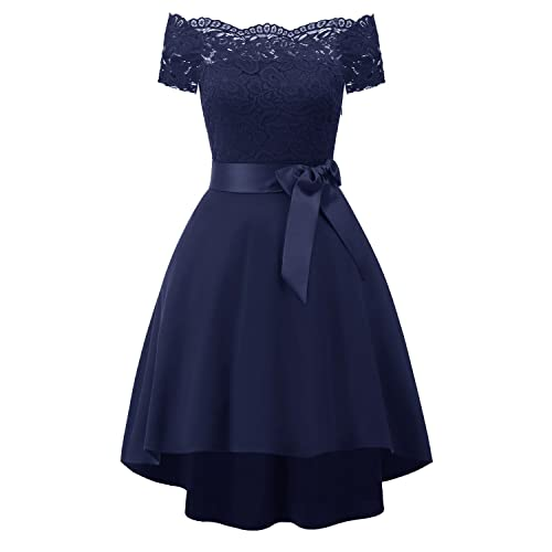 Navy Blue Junior Prom Dress: Amazon.com